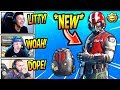 """STREAMERS REACT TO *NEW* """"WINGMAN"""" SKIN! (STARTER PACK) Fortnite SAVAGE & FUNNY Moments"""