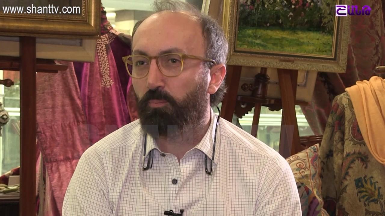 Ashxarhi hayer-Emil Arzangulyan-anons