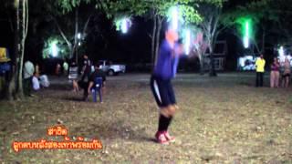 preview picture of video 'ตะกร้อลอดห่วง (ลูกตบหลังสองเท้าพร้อมกัน)'