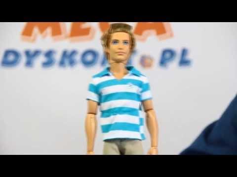 Ken Doll / Modny Ken - Barbie Life in the Dreamhouse / Barbie i Bajeczne Życie  Barbie - Mattel