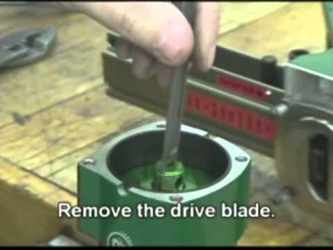 Powernail Model 200 Drive Blade Change