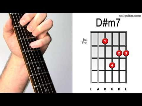 D#m7 - Learn Electric Guitar Chords Quick & Easy Tutorial  ♫♬