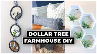 Dollar Tree DIY Farmhouse Decor 2020