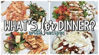 WHAT'S FOR DINNER  | EASY AND AFFORDABLE DINNERS | GIVEAWAY!! | COOK WITH ME  | OCT 24-30