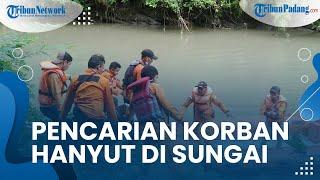 Warga Sijunjung Dilaporkak Hanyut di Sungai Nagari Padang Sibusuk, Korban Masih dalam Pencarian