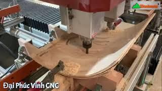 Chạy biên dạng phức tạp với máy CNC làm mộng 4 đầu WM-1500A4