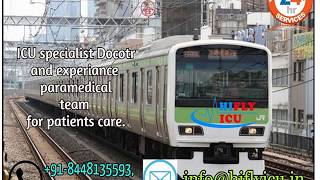 Low-Budget Medical Facility Train Ambulance from Surat to Delhi  By Hifly I
