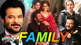 Anil Kapoor Family With Parents, Wife, Son, Daughter, Brother, Sister and Nears