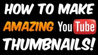 How To Make Thumbnail For YouTube videos