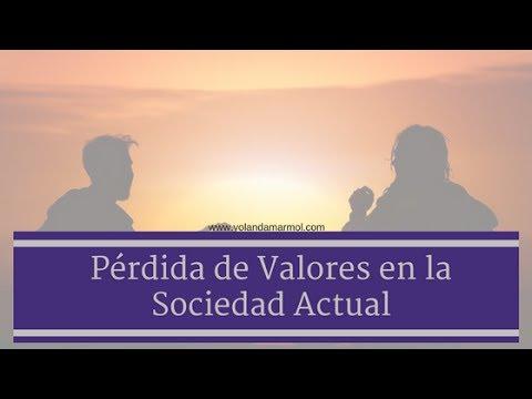 Pérdida de Valores en la Sociedad Actual