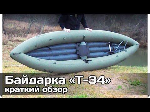 Видеообзор от пользователя байдарки Т-34