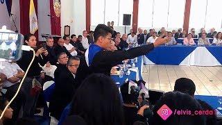 """Lesther Alemán encara a Daniel Ortega en el """"Díalogo Nacional"""" en Nicaragua - 16 de Mayo del 2018"""
