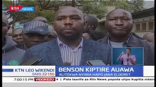 Benson Kiptere auawa: Mwili umepatikana msitu wa kamatira
