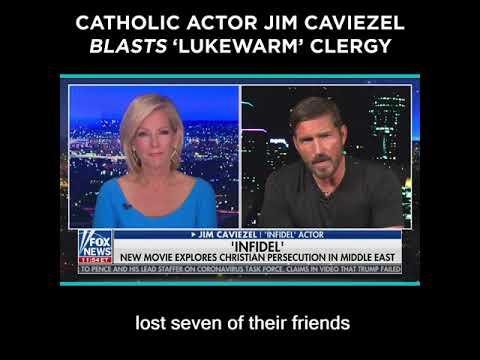 Catholic Actor Jim Caviezel Blasts 'Lukewarm' Clergy