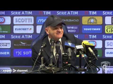 Preview video Le parole di mister Iachini al termine di Empoli-Inter