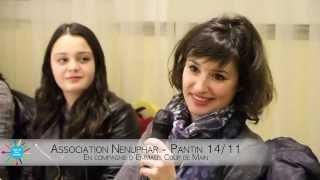 preview picture of video 'Diner de l'institut Nénuphar à Pantin en compagnie d'Emmaüs le 14 novembre 2014'