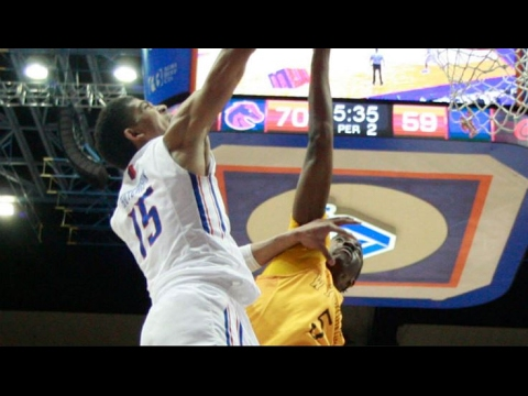 Mountain West Basketball Top 3 Plays Of The Week | February 19, 2017