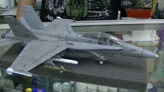 preview picture of video 'TUDM F-18 D Super Hornet, Neo Plamo, P5'