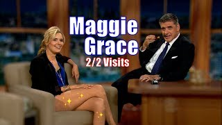 Maggie Grace - Brought Her Legs With Her  - 2/2 Appearances In Chron. Order [HD]