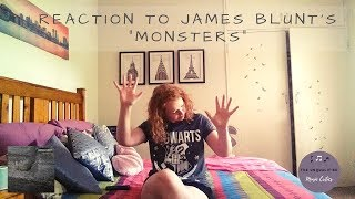 "Reaction To James Blunt's ""Monsters""   The Old James Blunt Is BACK!!"
