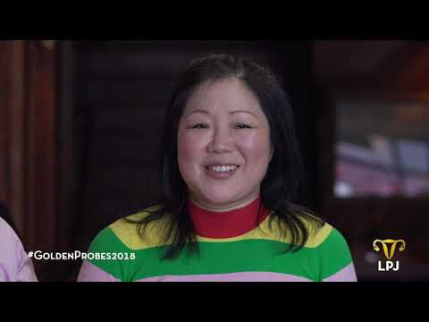 "Andy Richter ""Probesplains"" the Golden Probes to Host, Margaret Cho"