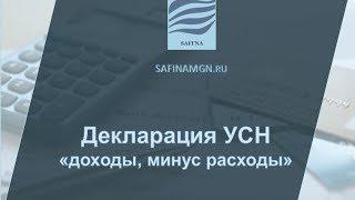 Видео-инструкция заполнения налоговой декларации по УСН