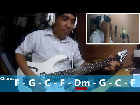 Stiches and burn | fra lippo  lippi | guitar cover with chords