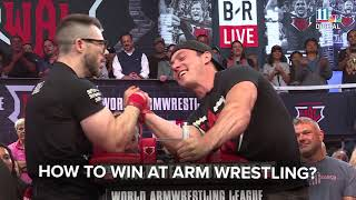 How to win at arm wrestling:  tips from a pro!