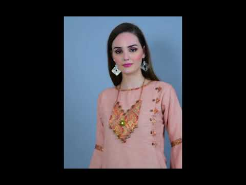 Inspire Women Straight Kurta Necklace (with Beads Work)