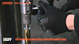 VersaDrive™ Reamers – Speed up your metalworking