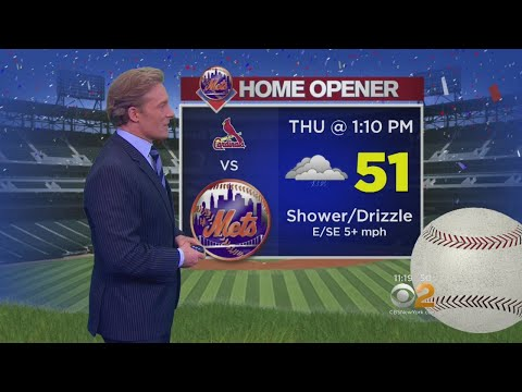 Drizzles Possible For Mets' Season Opener