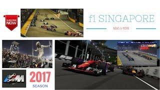 2017 SINGAPORE FORMULA 1 GP - HIGHLIGHTS CRASHES & Latest NEWS