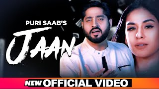 Jaan (Official Video) | Puri Saab | Satta Kotli Wala | Rupin Kahlon | Latest Punjabi Songs 2020