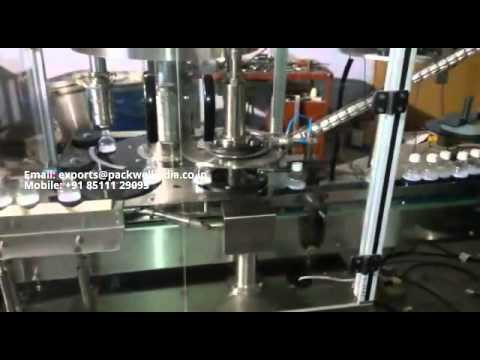 Automatic pharmaceutical liquid syrup filling Machine