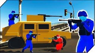 КРУТАЯ Городская карта Metros и мой спец отряд - Игра Ravenfield  Битва солдатиков в РЕВЕНФИЛД