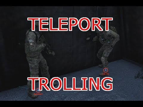 Teleport at your own risk in Arma 3 Antistasi - Liru the
