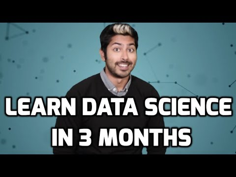 Learn Data Science in 3 Months - YouTube