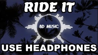 Regard   Ride It (8D AUDIO) 🎧