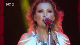 Nina Badric koncert Arena Pula 8.8.2016