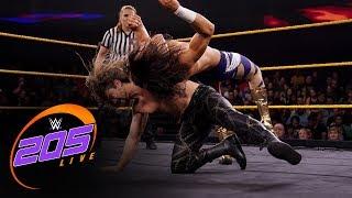 Mansoor Vs. The Brian Kendrick: WWE 205 Live, Nov. 8, 2019