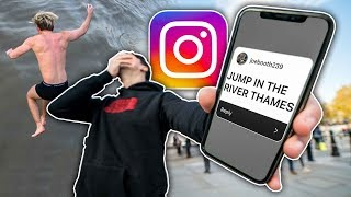We Let Our INSTAGRAM Followers Decide Our DARES For 24 Hours...