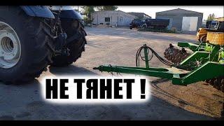 Изнасиловал трактор Valtra T234 неестественным способом! Лён убрал... фух.