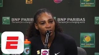 Serena Williams shuts down reporter: 'I've never tested positive' for banned substances | ESPN