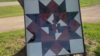 How To Make A Barn Quilt Sqaure