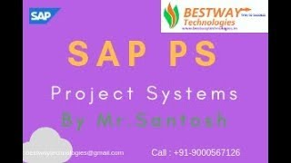 SAP PS Online video class | SAP PS Online Training in Hyderabad, Bangalore, India, USA, UK
