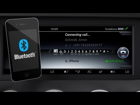 Mercedes-Benz TV: S-Class Coup: Bluetooth.