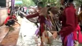 Indonesian Javanese Cultural Art Of Dance ''jaran Kepang Anak Mekar Budoyo Part 1