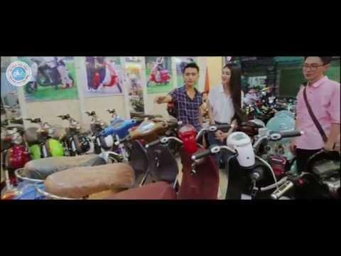 Quảng cáo xe đạp điện Đào khôi Dkbike Hikaru
