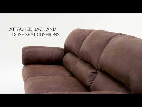 Coffee Bladen Full Sofa Sleeper View 4 video
