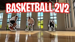 2v2 MIAMI BASKETBALL GAME! ft. Silky, ScumTK, Sweetings!
